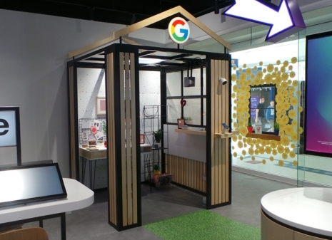 GOOGLE POD GOES ON DISPLAY IN THREE