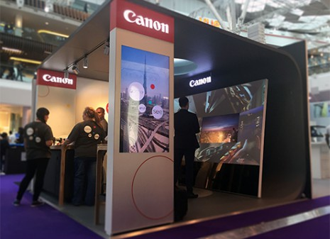 Canon Interactive Experience at Westfield